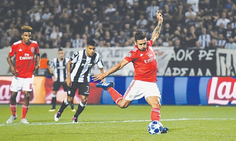 Red Star reach Champions League group stage with Benfica ...