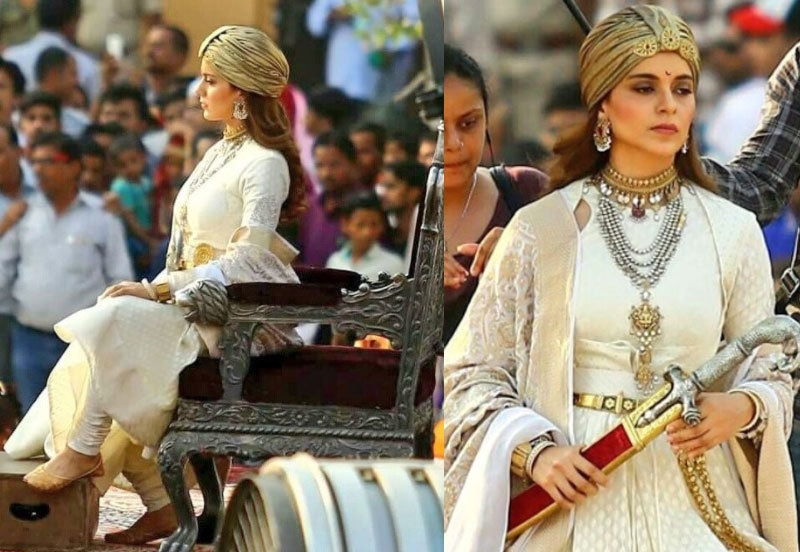 فلم میں اداکارہ جھانسی کی رانی کے روپ میں نظر آئیں گی—پرومو فوٹو
