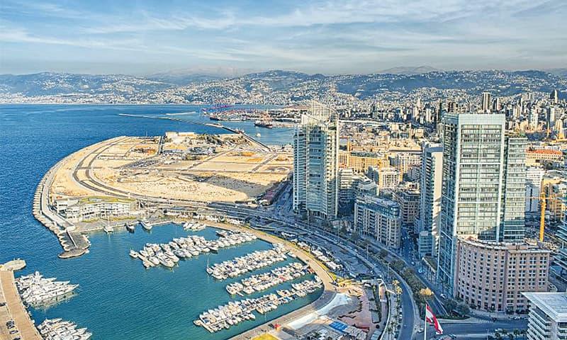Following the 1975-1990 destructive Lebanese Civil War, Beirut's landscape underwent major reconstruction.