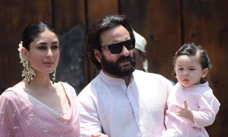 کرینہ کپور نے 2012 میں سیف علی خان سے شادی کی تھی، انہیں ایک بیٹا بھی ہے—فوٹو: نیو انڈین ایکسپریس