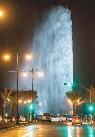 The King Fahd Fountain is one of the most famous landmarks in Jeddah. In a departure from the West-centric norm, Tanaz Bhathena sets her story of a rebellious, misunderstood teen in the Saudi Arabian city | Wikimedia Commons