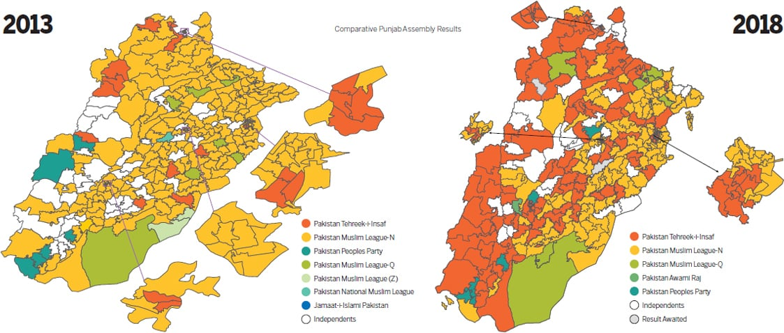 Elections 2018: Mapping the trends - Pakistan - DAWN COM