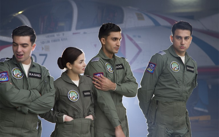 Parwaaz Hai Junoon is about two sets of characters: the new bloods and the aces