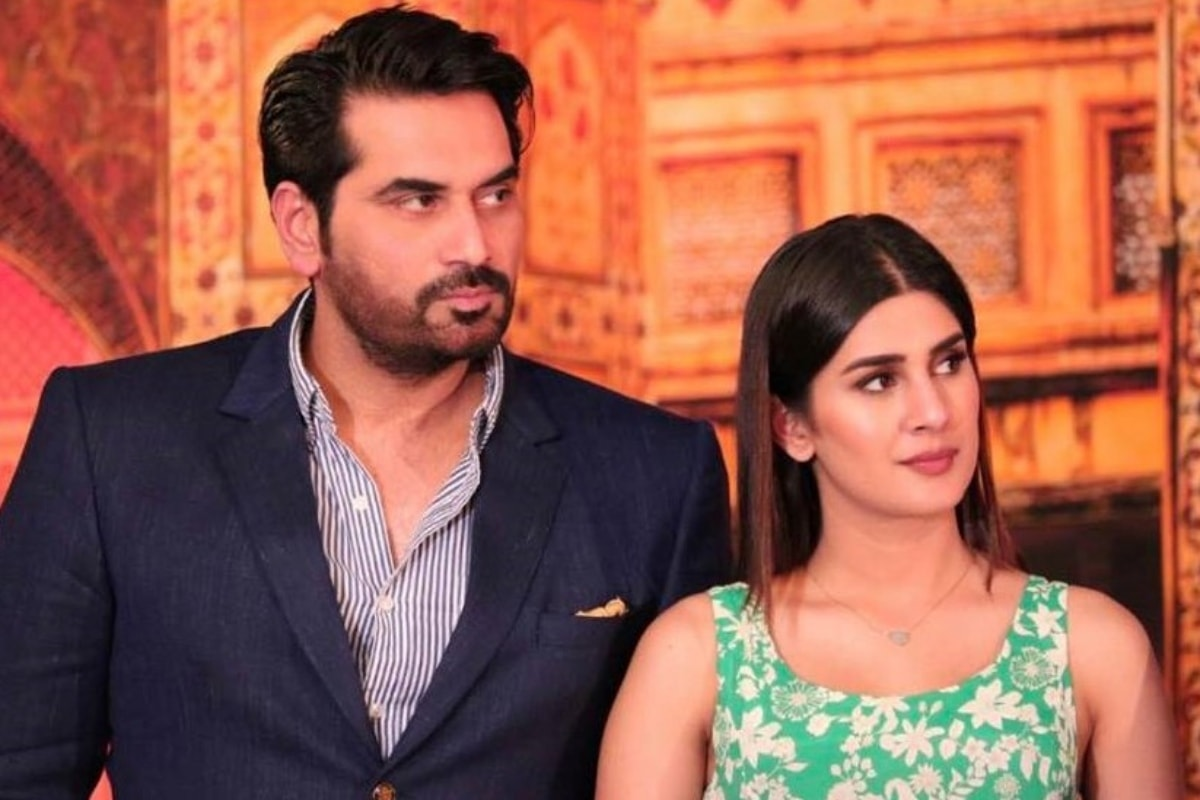 Humayun with JPNA 2's female lead Kubra Khan