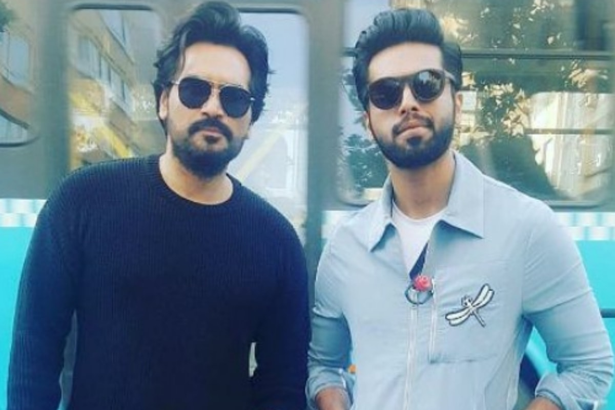 Humayun with Fahad Mustafa, the new addition to the cast of the JPNA franchise