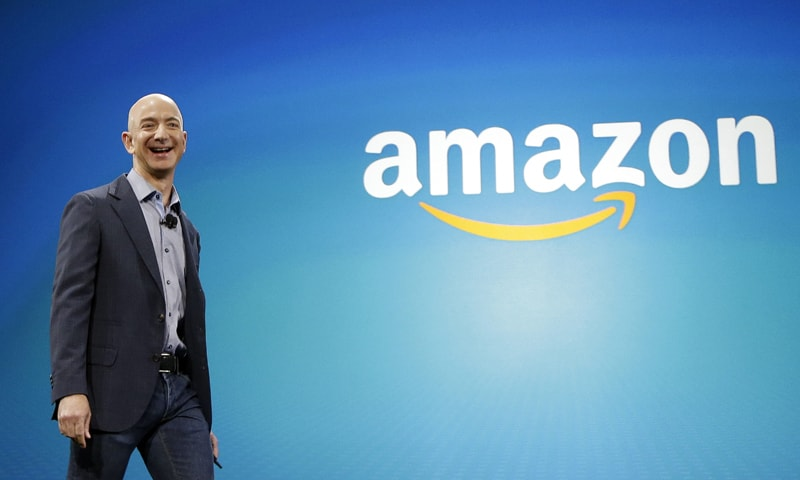 Amazon goes from books to a trillion-dollar valuation