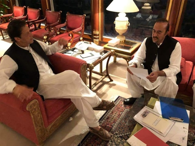 BABAR Awan handing in his resignation to Prime Minister Imran Khan on Tuesday.