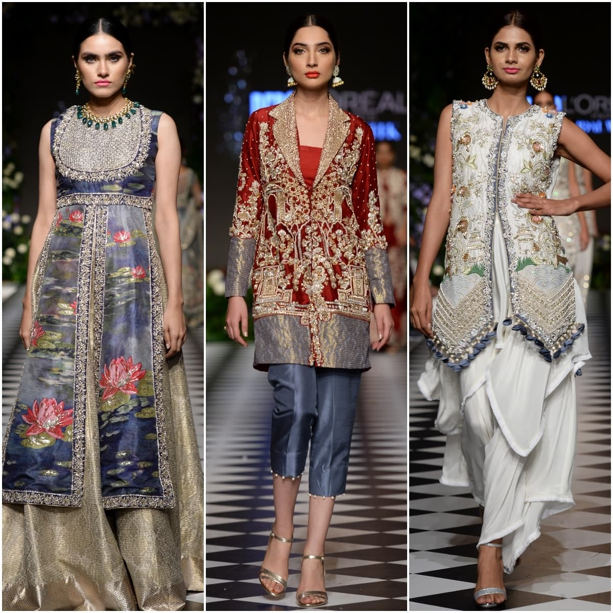 Saira Shakira's contemporary silhouettes worked the best
