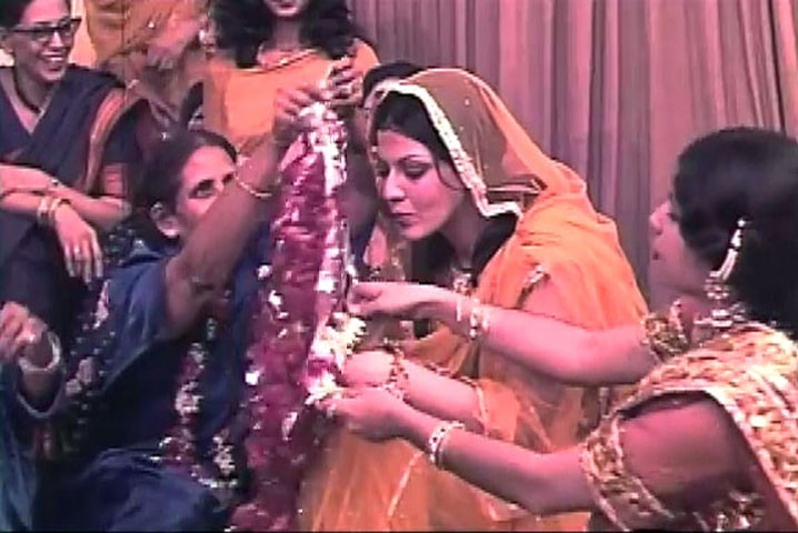 A mehndi song scene from Javed Jabbar's bilingual film Beyond the Last Mountain and its Urdu version Musafir