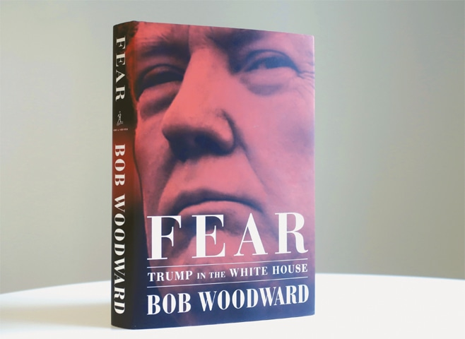 Woodward's book portrays White House as chaotic