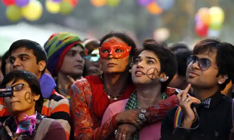 بھارت میں ہم جنس پرستی کے حق میں کئی سال سے تحریک جاری تھی—فائل فوٹو: ہندوستان ٹائمز