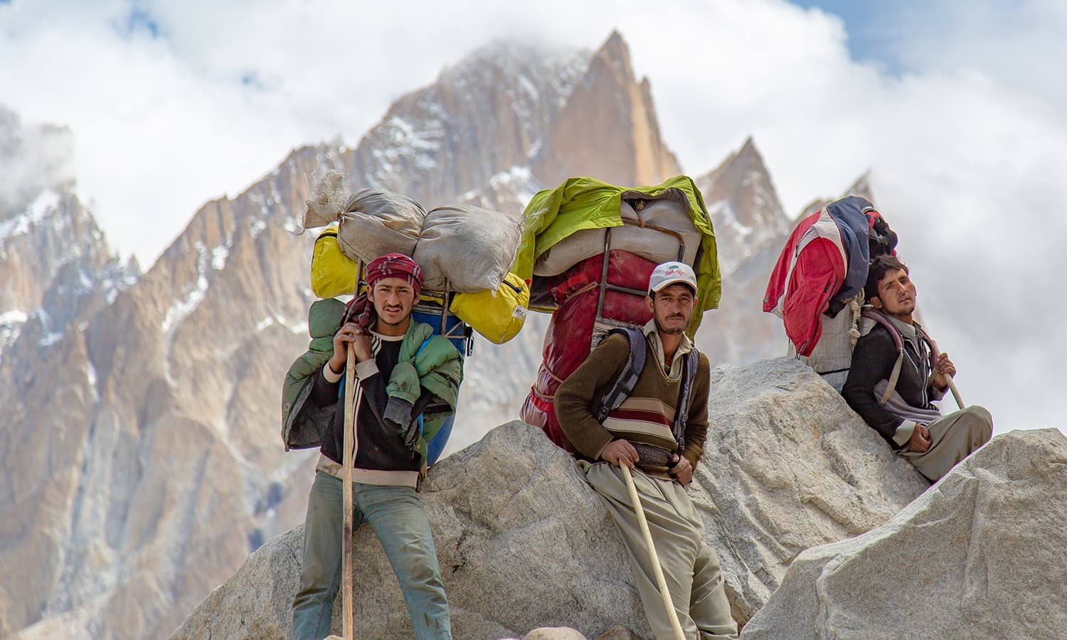 The true heroes of Karakoram. Trekking or climbing would not be possible without their efforts.
