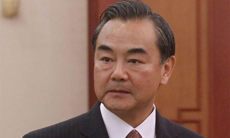 Chinese foreign minister arriving in Pakistan today on three-day visit