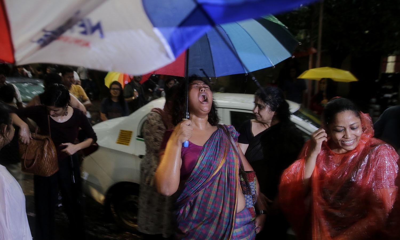 اس ضمن میں دہلی ہائی کورٹ نے 2009 میں ہم جنس پرستی کو جرم قرار دیتے ہوئے کہا تھا کہ یہ بنیادی حقوق کی خلاف ورزی ہے — اے پی فوٹو