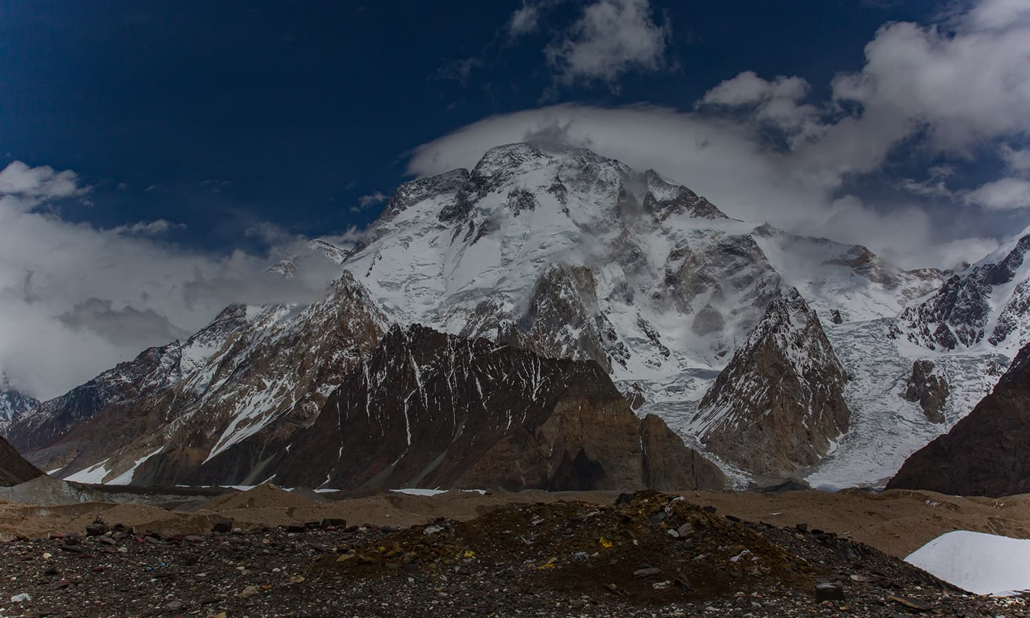 Broad Peak (8,051m), the world's 12th highest mountain.