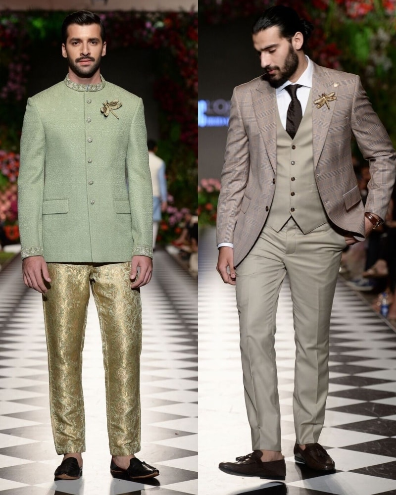 Omar Farooq designs for the refined man
