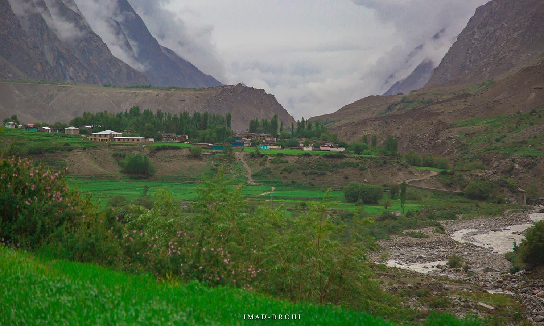 Hushe village.