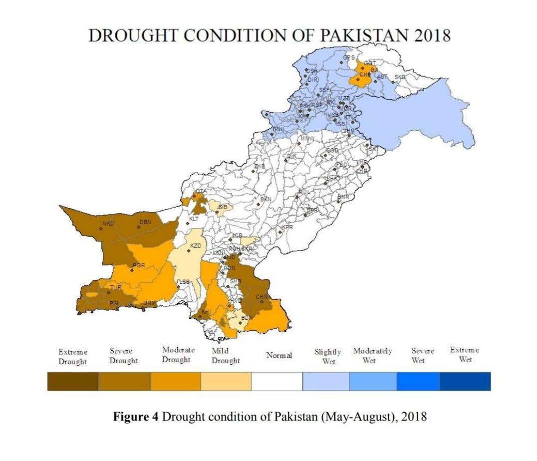 PMD issues drought alert, southern parts of country deeply