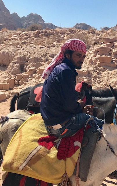 The Bedouins of Petra are believed to be descendants of the Nabataeans. ─ Photo by writer