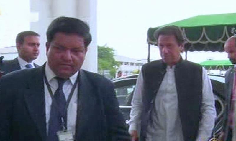 وزیر اعظم عمران خان بھی شریک ہوئے— فوٹو: ڈان نیوز