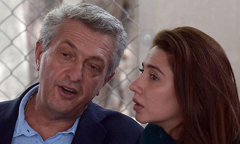 اداکارہ نے یو این سی ایچ آر کے سربراہ سے بھی ملاقات کی—فوٹو: اے ایف پی