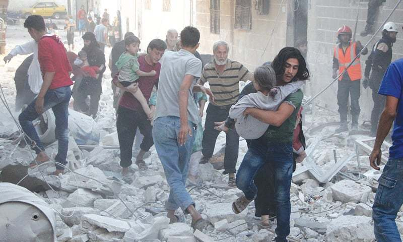 Syria, Russia resume Idlib air strikes