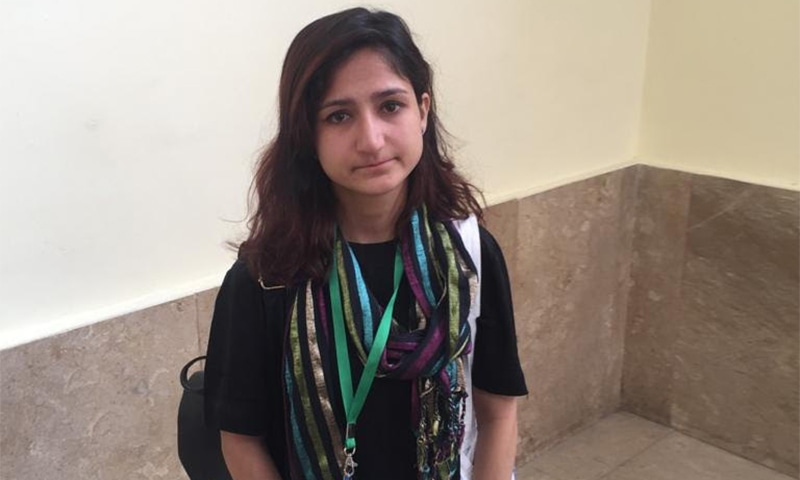 22-year-old Tatheer Fatima wants her father's name removed from her official documents. ─ DawnNewsTV