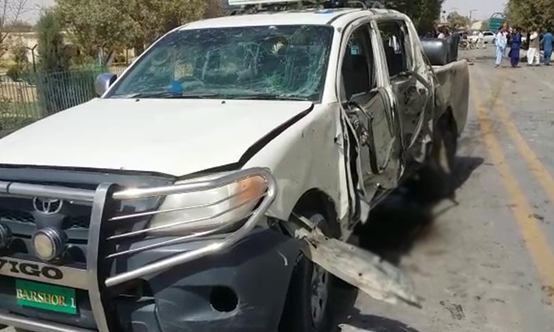 Three others wounded in blast near deputy commissioner's vehicle in Pishin. ─ DawnNewsTV
