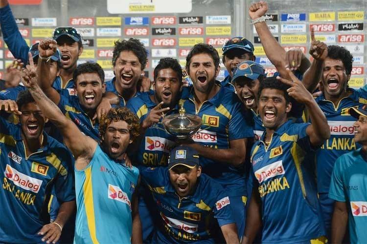 سری لنکا نے پاکستان کو شکست دے کر ایشیا کپ 2014 جیتا — فوٹو ایشیئن کرکٹ کونسل