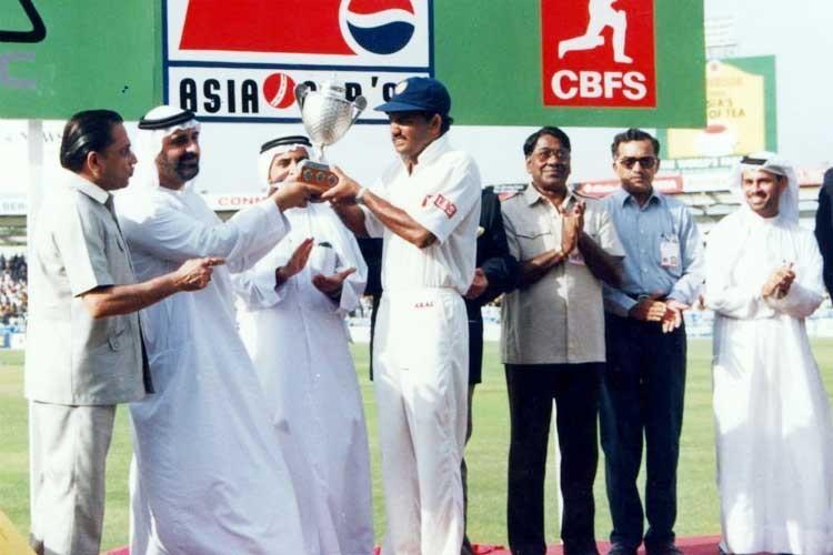 ایشیا کپ 1995ء کے فائنل میں بھارت نے سری لنکا کو 8 وکٹوں سے شکست دی — فوٹو ایشیئن کرکٹ کونسل