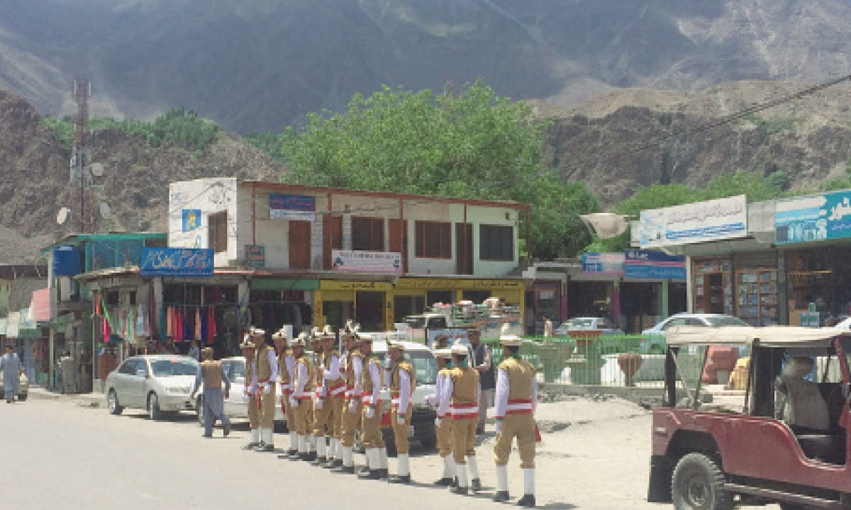 Boy Scouts in Gahkuch, the district headquarters of Ghizer | Aurangzaib Khan