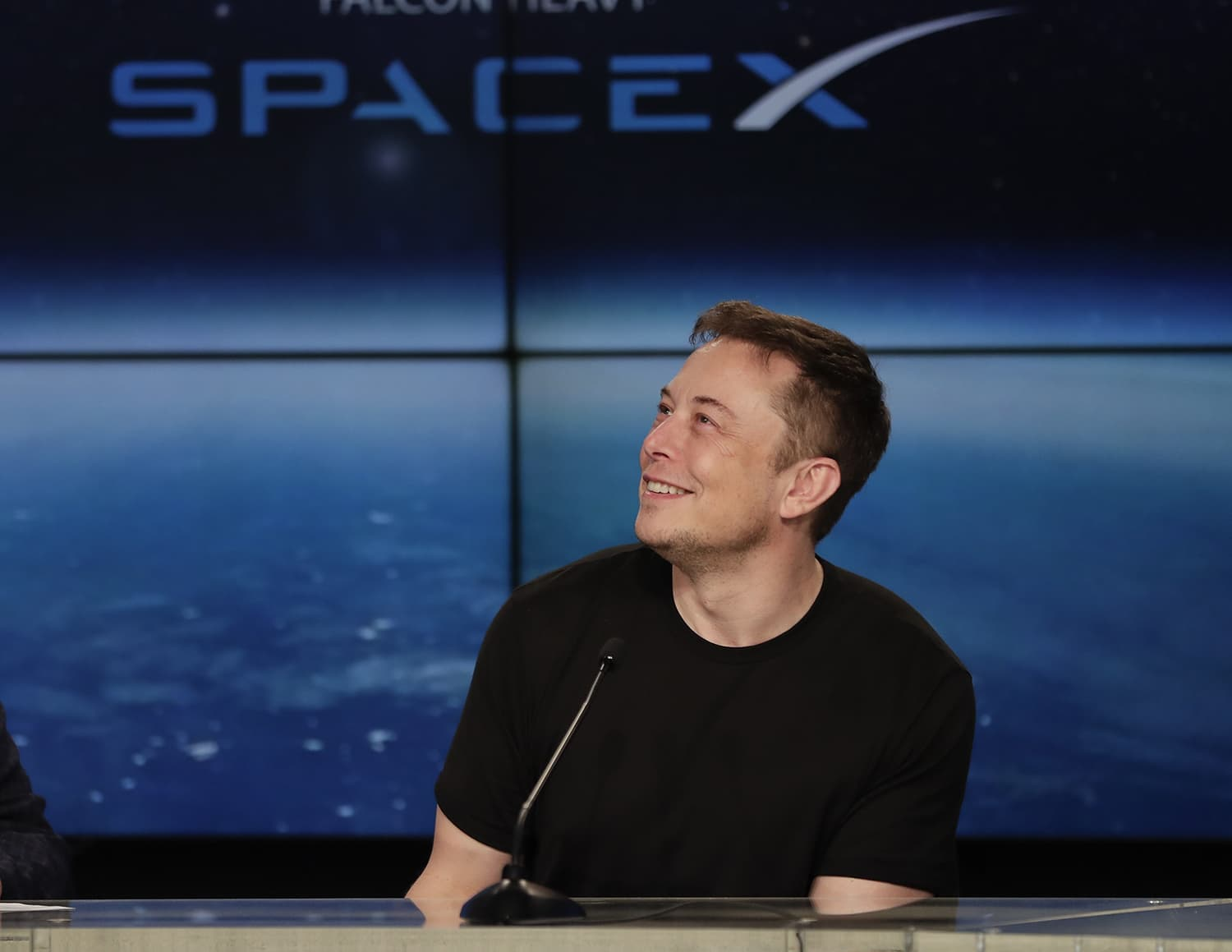 Elon Musk, founder, CEO, and lead designer of SpaceX. —AP