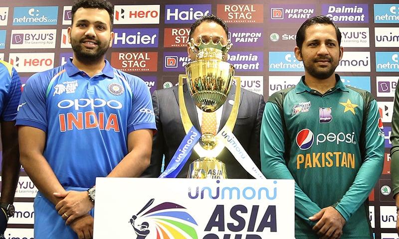 پاکستان اور بھارت کا میچ 19 ستمبر کو ہوگا جس کا شائقین کو بہت شدت سے انتظار ہے— فوٹو: اے پی