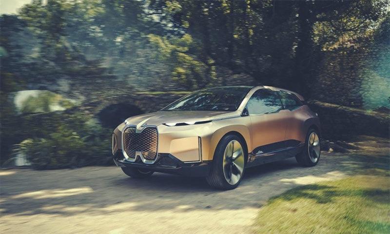 بی ایم ڈبلیو کی مستقبل کی گاڑی متعارف