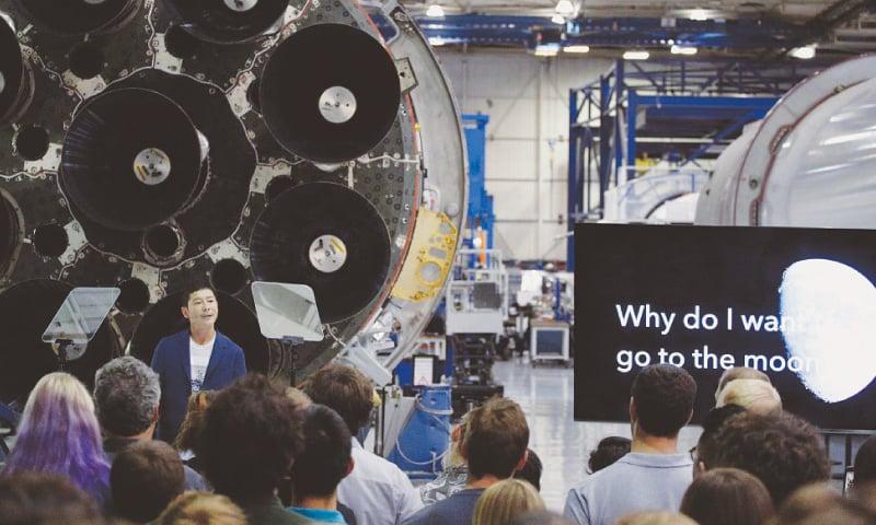 Japan billionaire is SpaceX's first Moon flight customer