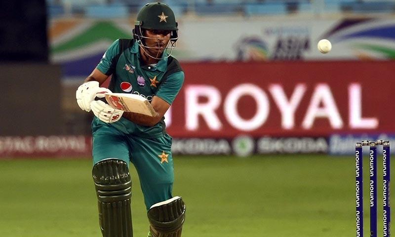 Fakhar Zaman opens the Pakistan innings with Imamul Haq — ICC