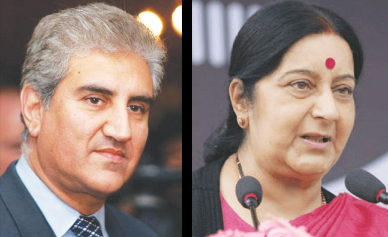 THE meeting between Foreign Minister Makhdoom Shah Mehmood Qureshi and External Affairs Minister Sushma Swaraj in New York has been proposed by PM Imran Khan to his Indian counterpart Narendra Modi.