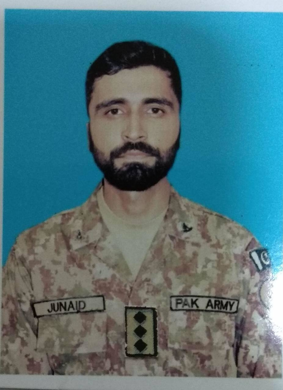 Capt Junaid of Murree tehsil was unmarried.