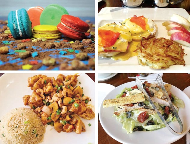 The menu is extensive and typical for Islamabad, with its focus on Italian-Continental dishes, fast food and a few tea items.