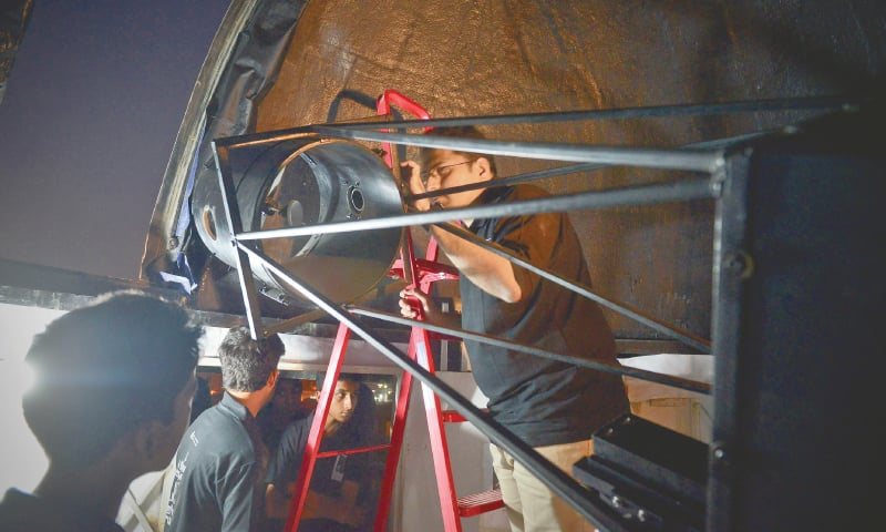 Pakistan steps forward in astronomy and space sciences