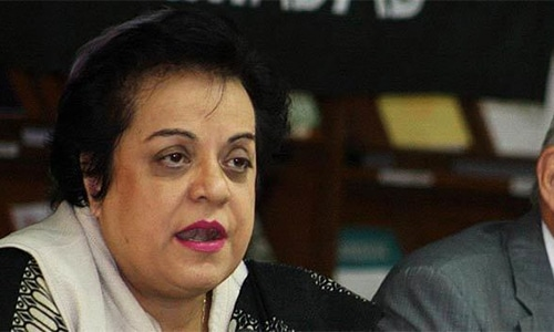Human Rights Minister Shireen Mazari. — Photo/File