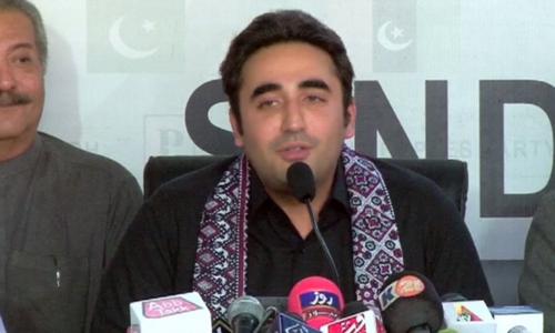 PPP chairman Bilawal Bhutto-Zardari. — DawnNewsTV