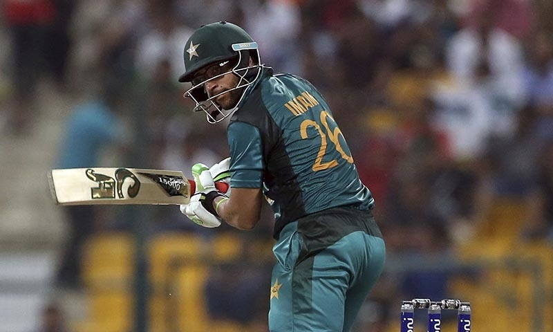 Pakistan's Imam-ul-Haq bats during the one day international cricket match of Asia Cup between Pakistan and Bangladesh in Abu Dhabi, United Arab Emirates, Wednesday, Sept. 26, 2018. (AP Photo/Aijaz Rahi) — Copyright 2018 The Associated Press. All rights reserved.