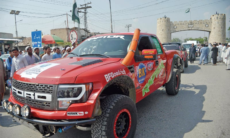 Jeep rally highlights tourism potential