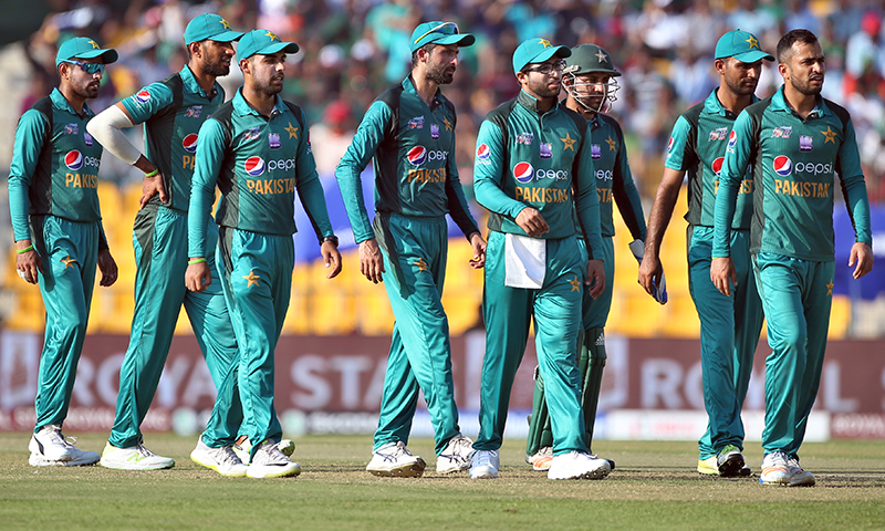 پاکستان کرکٹ ٹیم — فوٹو، اے پی