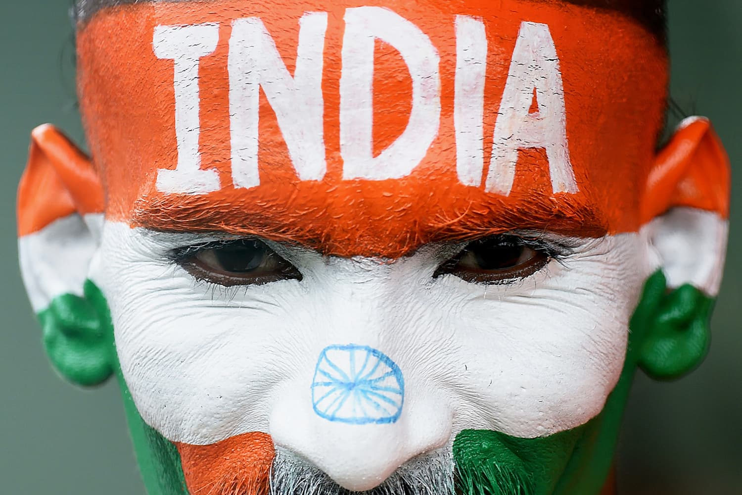 In this file photo taken on September 1, 2015, Indian cricket fan Sudhir Kumar attends the fifth and final day of the third and final Test match between Sri Lanka and India at the Sinhalese Sports Club in Colombo. — AFP