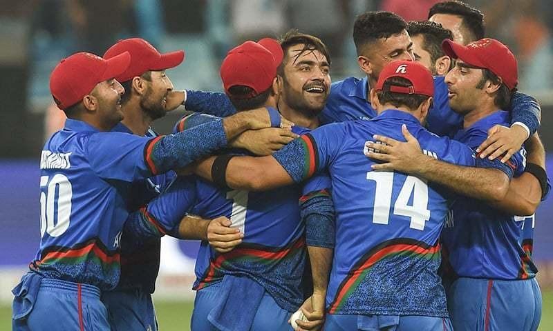 افغانستان ٹیم اس بار مختلف موڈ میں تھی