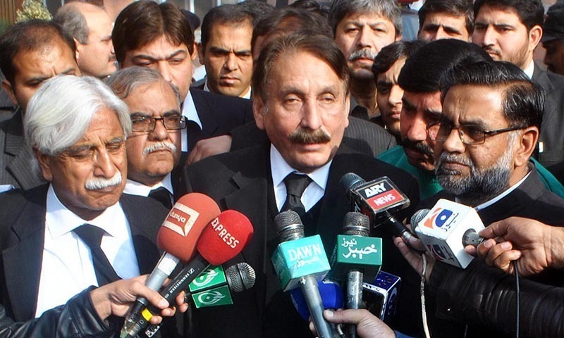 Iftikhar Chaudhry terms son-in-law's arrest in housing scam as govt's propaganda