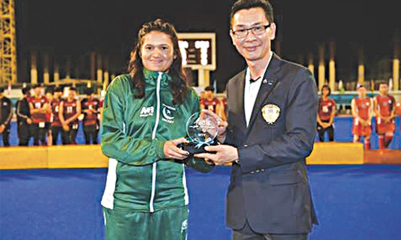 Rizwana Yasmin in 2017 became the first woman from Gojra to captain the national team