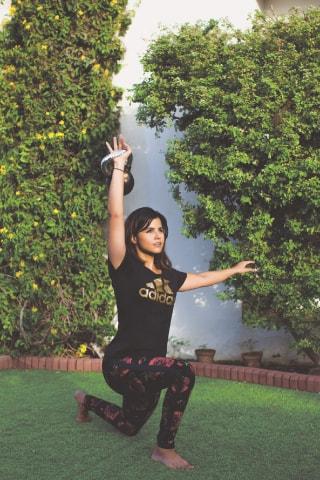 Amal Sarwar, a fitness guru|Photo by Mohammad Ali / White Star